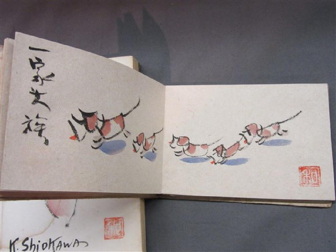 Two (2) K. Shiokawa Painting Books - 6