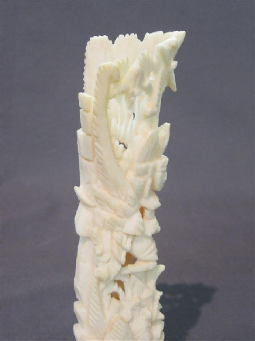 Six (6) Piece Bone Carvings - 3