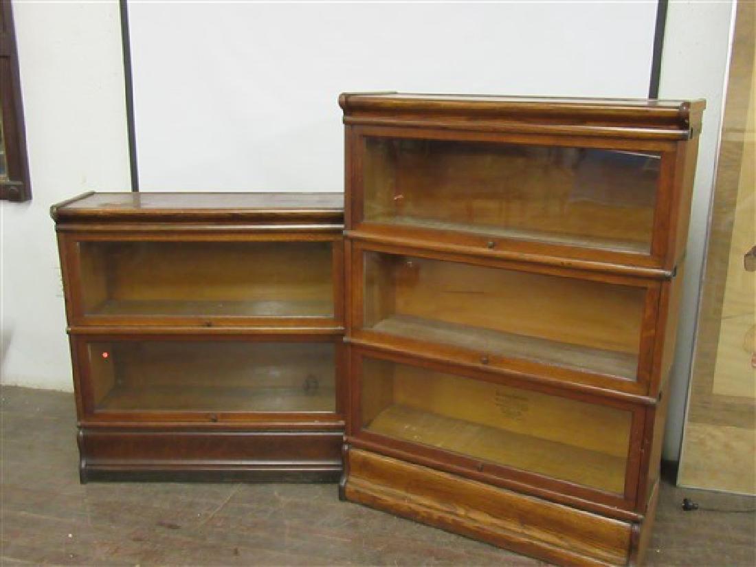 Globe Wernicke Stacking Bookcases