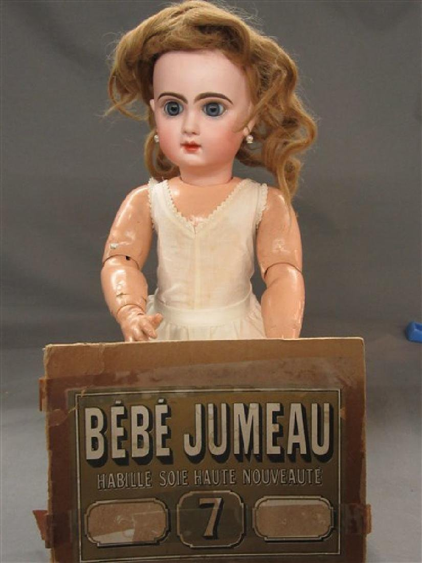 Bebe Jumeau French Porcelain Doll