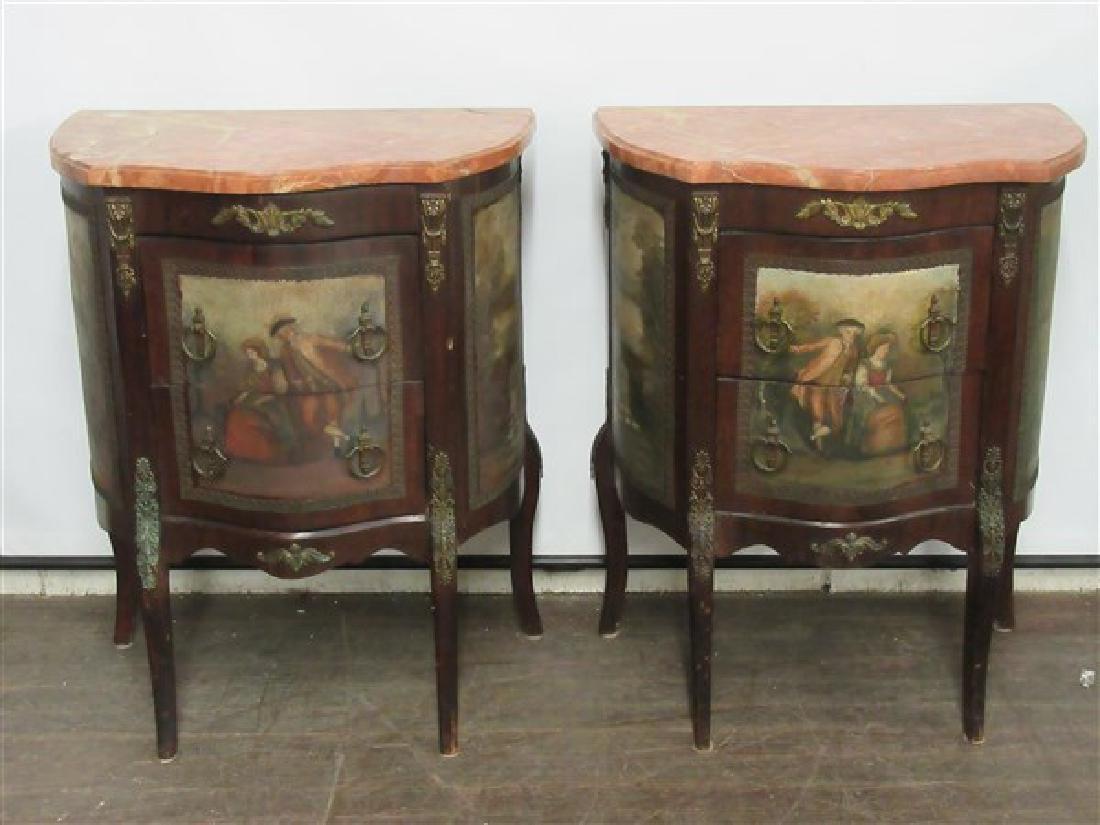 19th Century Italian Marble Top Tables