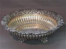 Frank Whiting Sterling Silver Footed Serving Bowl