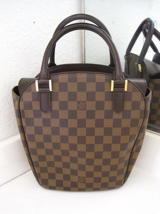 Authentic Louis Vuitton LV Brown Damier Tote Bag