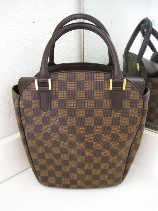 Authentic Louis Vuitton LV Brown Damier Tote Bag