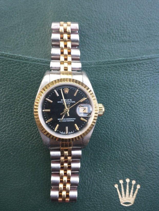 Rolex Ladies Two Tone Datejust