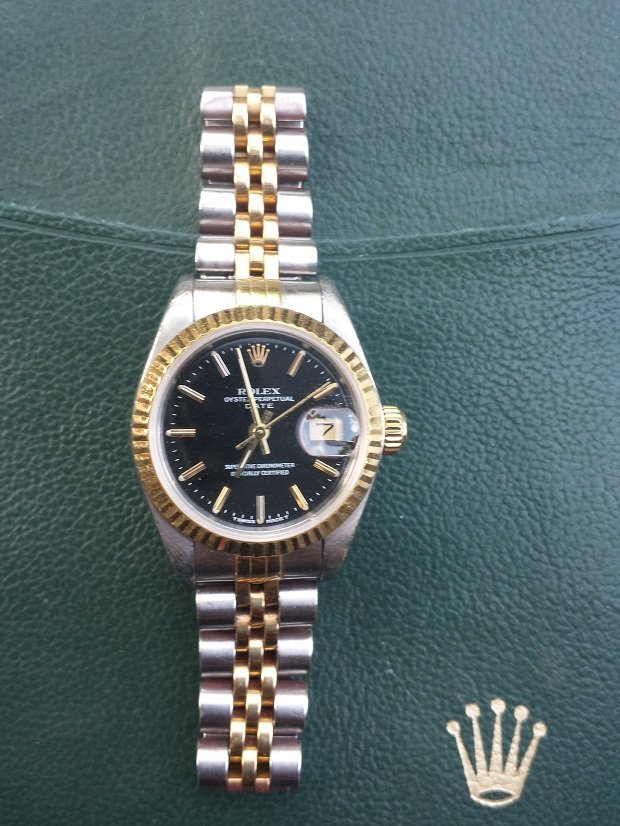 Rolex Ladies Two Tone Datejust
