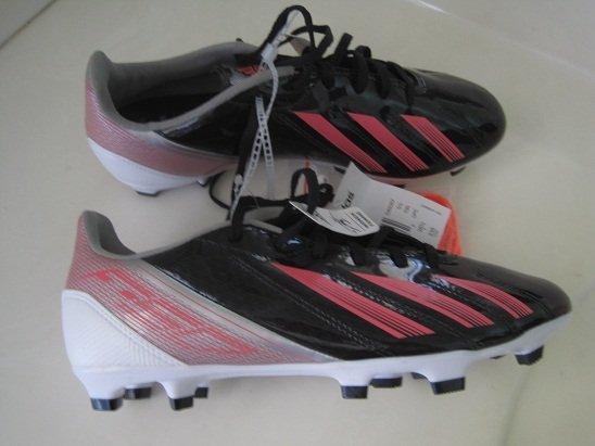 Adidas F10 TRX FG Soccer Cleats Black/Metal Silver/Pink