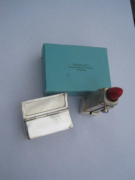 Tiffany & Co Lipstick/Mirror Case