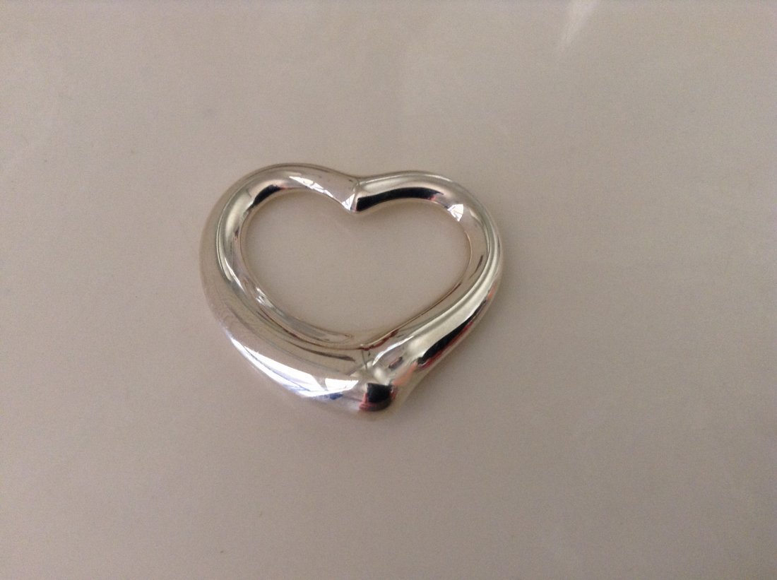 Tiffany & Co. Sterling Silver Elsa Peretti Extra Large