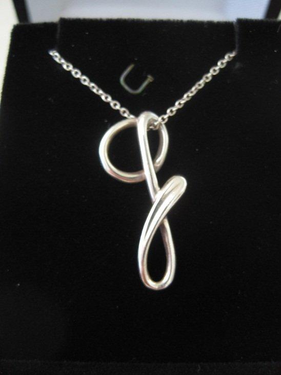 "Tiffany & Co Elsa Peretti Alphabet Letter ""G"""