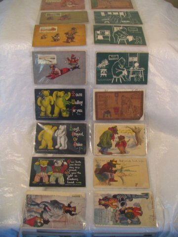 477: Lot of vintage and antique postcards, Christmas, C