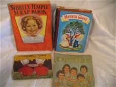 538: Children's books, Mother Goose, Sunbonnet Twins, D