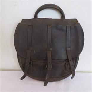 Civil War leather haversack