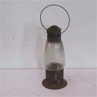 Early tin barn lantern