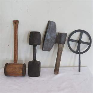 4 old tools