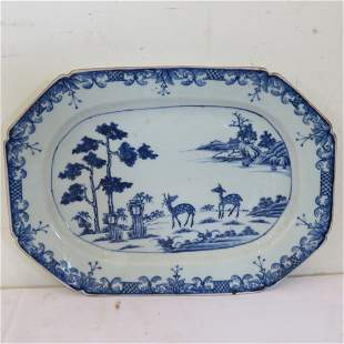 Early Chinese porcelain platter