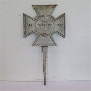 Civil War Confederate States marker