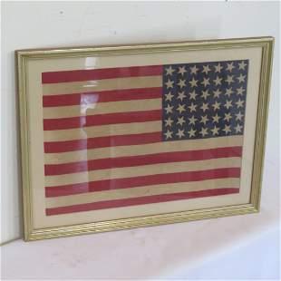 Ca. 1890 American 42 star flag