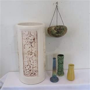 5 pcs of art pottery