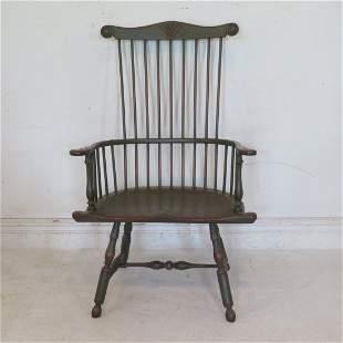 Philadelphia comb back Windsor armchair reproduction