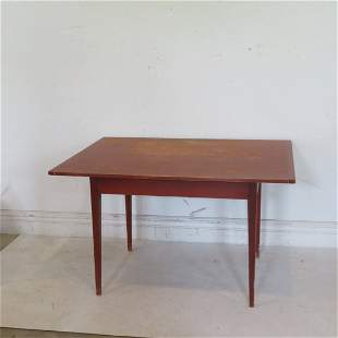 David T. Smith, Morrow, OH, reproduction work table