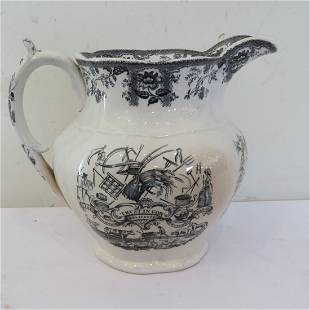 Farmer's Industry Produceth Wealth pitcher