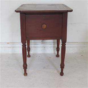 Circa 1840 cherry sugar table