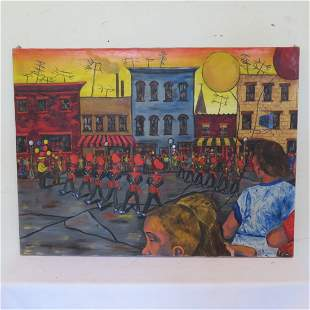 O/C of parade signed by Hilton Brown