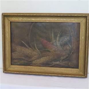 O/C painting of corn