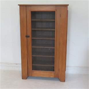 Circa 1900 pine screen door cooling safe