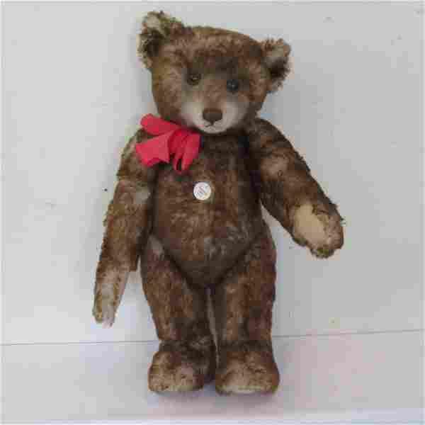 "Replica Steiff 26"" Teddy bear 1926 with original box"