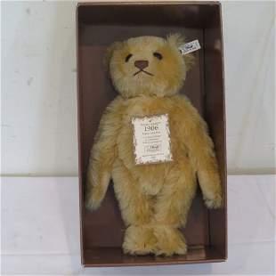 Steiff 1906 Replica British Collector's Teddy Bear