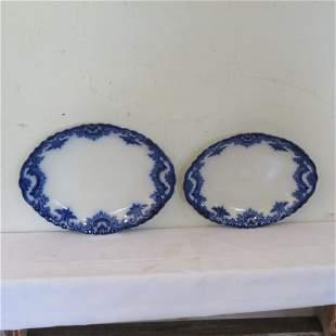 2 Clifton flow blue platters
