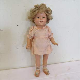 """Composition Ideal 16"""" Shirley Temple marked"""