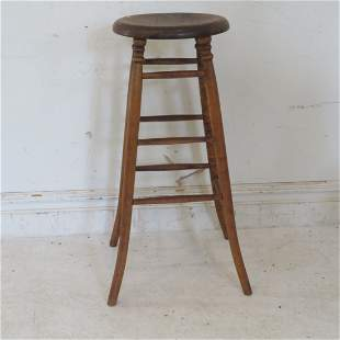 Maple and pine stool