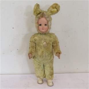 "18"" wind up bunny walking doll"