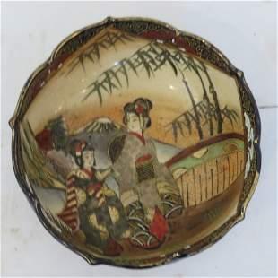 19th century Satsuma bowl