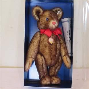 "Steiff Petsy Bicolor 1927 19"" bear"