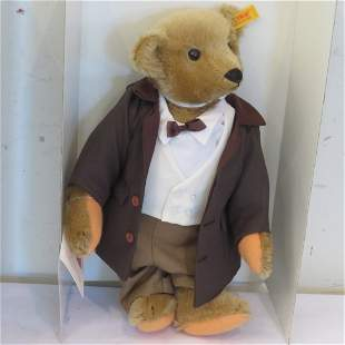 Steiff Victorian Gentleman bear NIB