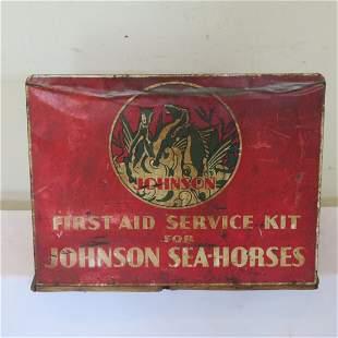 Johnson Sea Horse Outboard Motor counter parts bin
