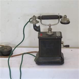 K.T.A.S. European antique telephone
