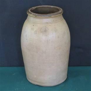 J.P. Ziegler, Clay Co., Ind. 2 gal. stoneware jar