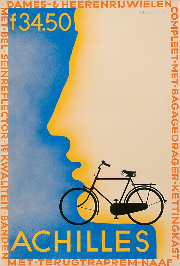 "7: Posters Bicycles Dutch , 43"" x 29"" - 109.2 x 7"