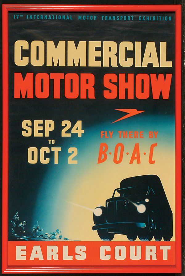 13: Posters Commercial Motor Show, 17th Internatio
