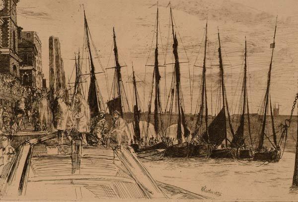 1004: Prints James McNeill Whistler (1834-1903)