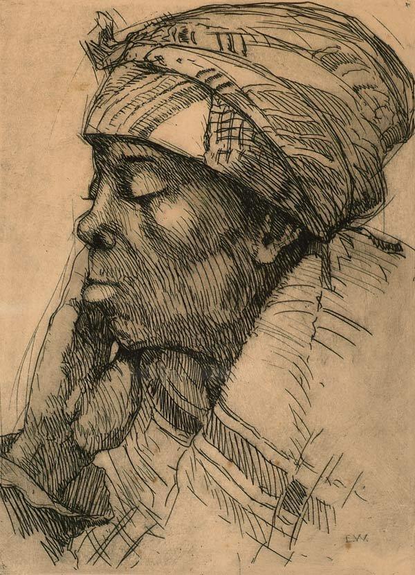 1007: Prints Ellsworth Woodward (1861-1939), MA