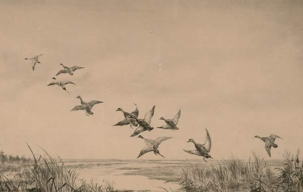 1008: Prints Roland Clark (1874-1957), MIXED CO