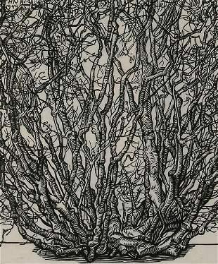 Prints Jacques Hnizdovsky (1915-1985), BU