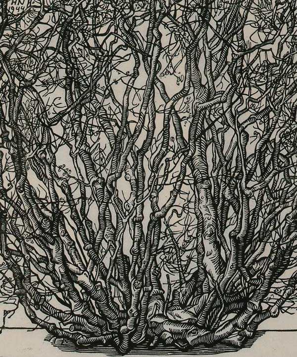 1009: Prints Jacques Hnizdovsky (1915-1985), BU