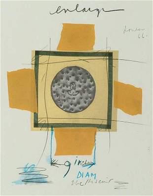 Prints Claes Oldenburg (1929- ), NOTES IN